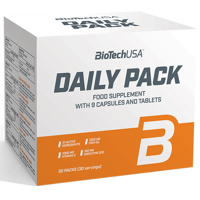 BioTech USA Daily Pack - All in One - 30 Packs
