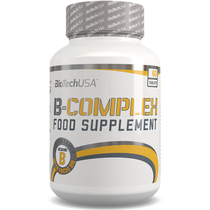 Biotech USA Vitamin B-Complex - 60 Tabletten