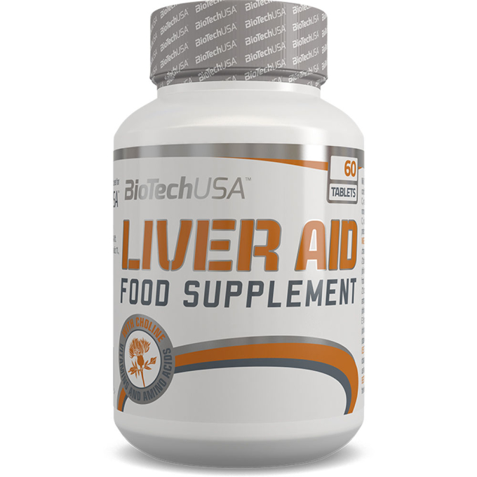 BioTech USA LIVER AID, 60 Tabletten