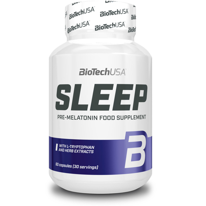 Biotech USA Sleep Melatonin Booster - 60 Kapseln