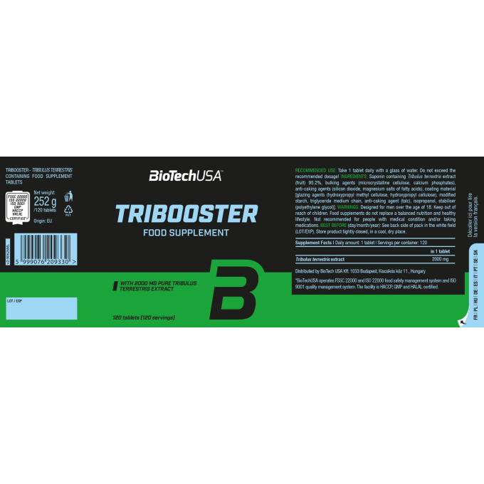 Tribooster 120 Tabletten