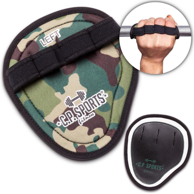 Power Grips Pro - camouflage oliv