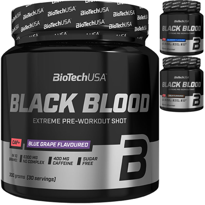 Biotech USA Black Blood CAF+ 330g