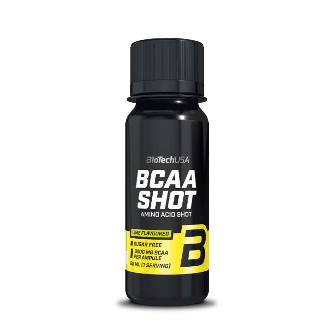 BioTech USA - BCAA Shot á 60ml - Lime
