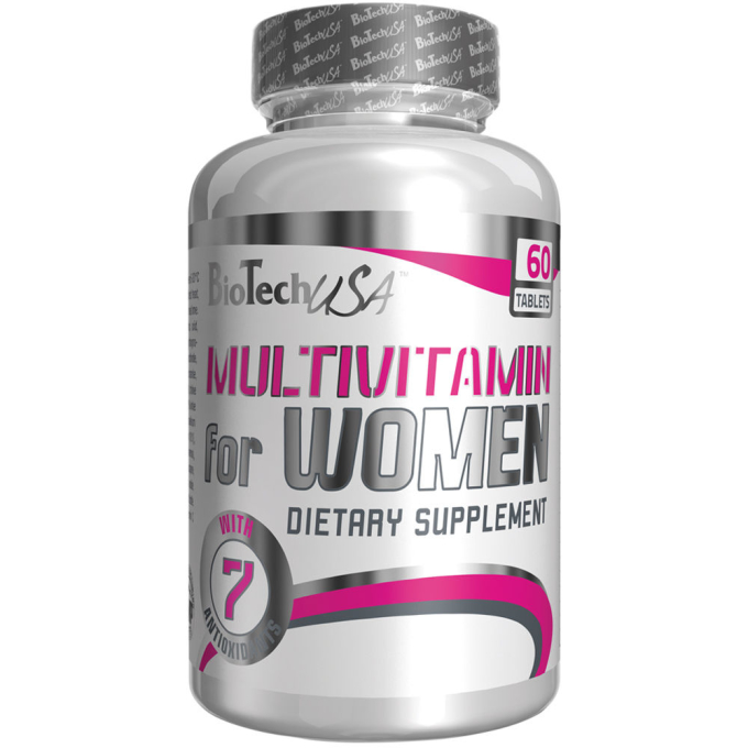Biotech USA Multivitamin for Women (Womens Performance) - 60 Tabl.