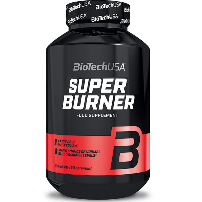 BioTechUSA Super Burner - 120 Tabletten