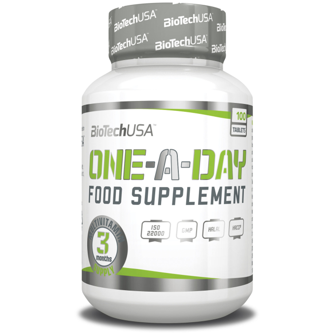 BioTech USA - One a Day  - 100 Tabletten