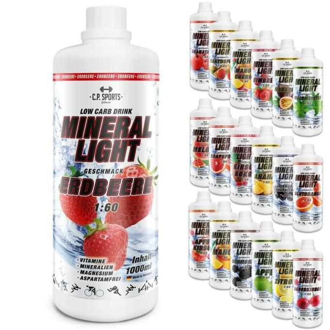Mineral Light Getränk für Sport - C.P. SPORTS - Der Fitness- und ...