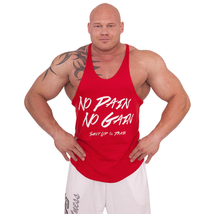 Stringer Tank Top - No Pain No Gain