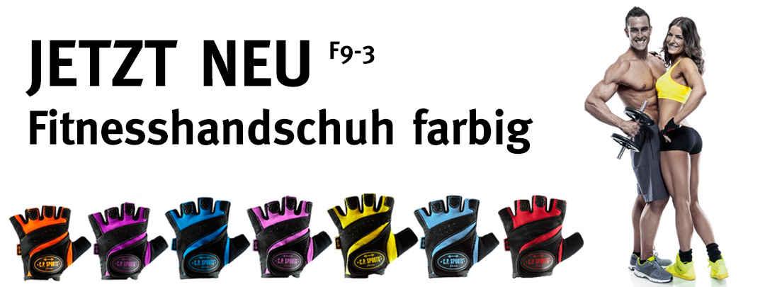 JETZT NEU Fitnesshandschuh farbig F9-3